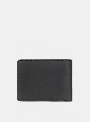 Černá kožená peněženka Quiksilver