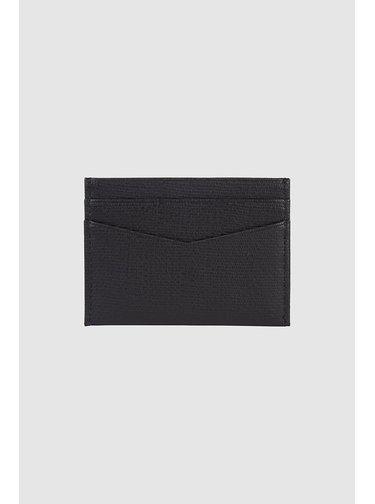 Calvin Klein černý kožený dokladovník Cardcase