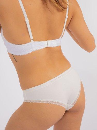 Biele nohavičky DORINA