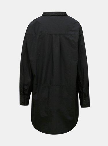 Černá oversize košile Jacqueline de Yong Chiko