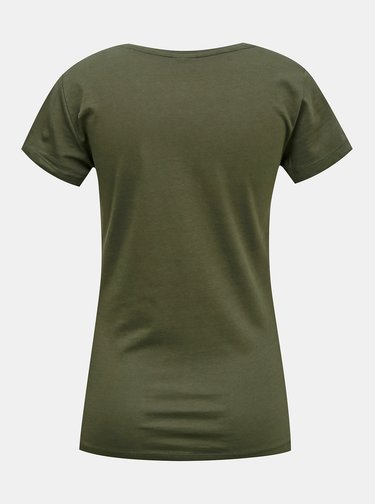 Zelené tričko s potiskem Jacqueline de Yong Chicago