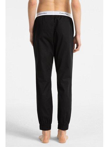 Calvin Klein černé domací kalhoty Jogger