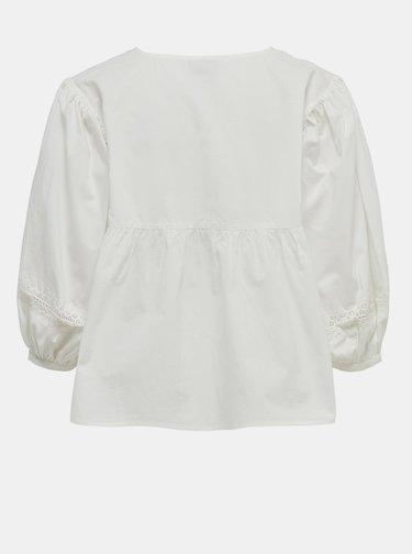 Biela blúzka Jacqueline de Yong Vita