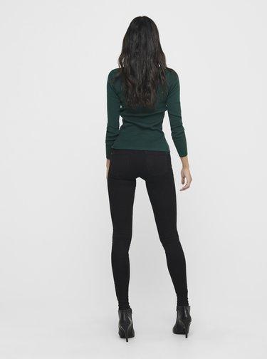 Tmavě zelené tričko Jacqueline de Yong New Maryan
