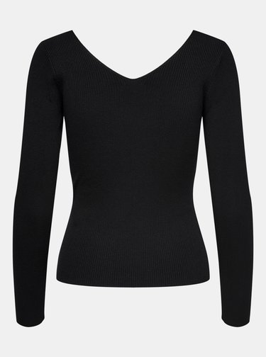 Čierne tričko Jacqueline de Yong Nannna