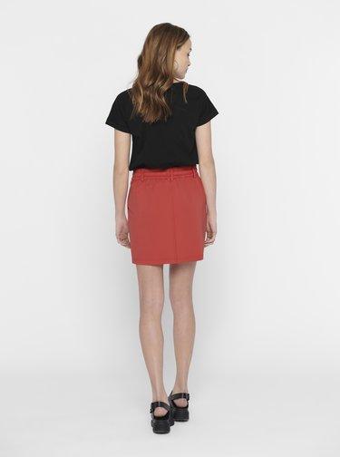Černé tričko Jacqueline de Yong Pastel