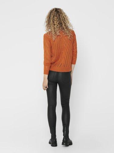 Oranžový sveter Jacqueline de Yong Kristen