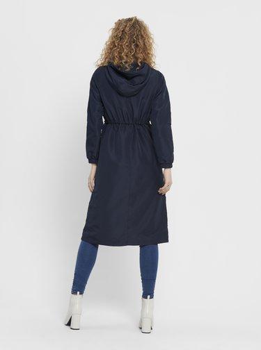 Tmavomodrý kabát Jacqueline de Yong Phoebe