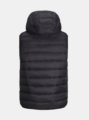 Čierna prešívaná vesta Jack & Jones Emagic