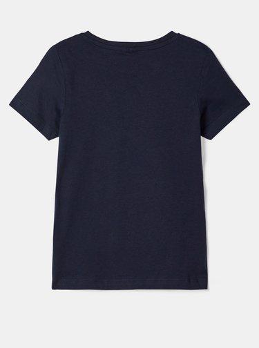 Tmavomodré dievčenské tričko name it Nasa