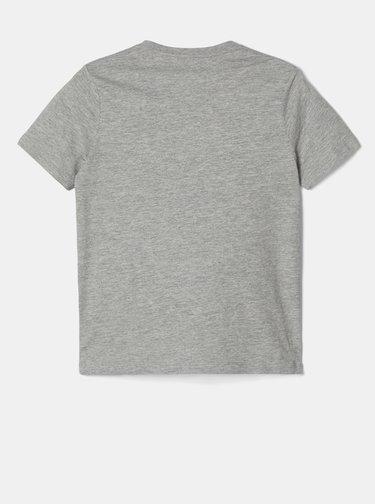 Šedé chlapčenské tričko name it Batman