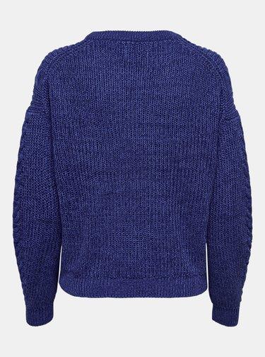 Tmavomodrý sveter ONLY Rosie