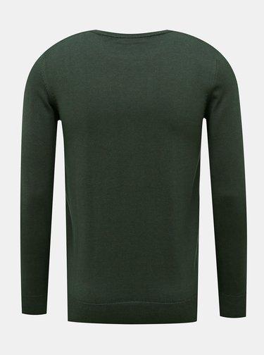 Tmavě zelený pánský svetr ZOOT Baseline Ferit