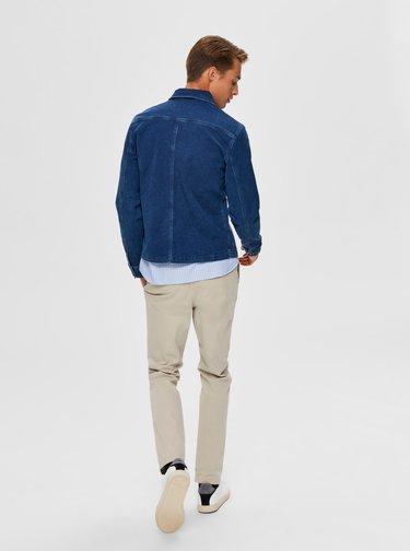 Modrá rifľová bunda Selected Homme Harry