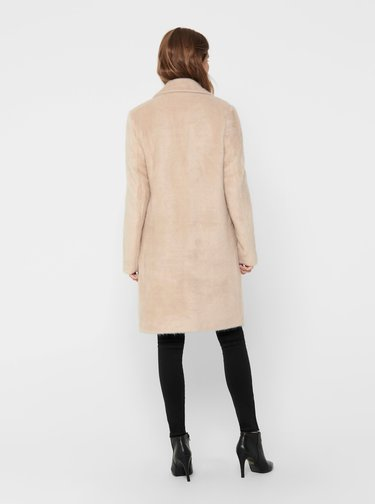 Béžový ľahký kabát ONLY Claire