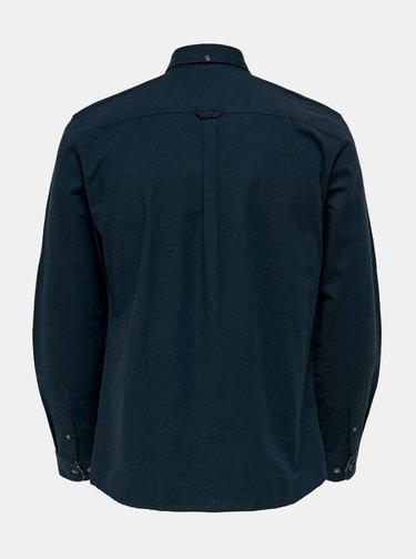 Tmavomodrá košeľa ONLY & SONS Blake