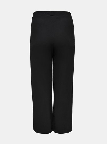Černé kalhoty ONLY CARMAKOMA Kerve