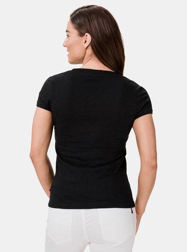 Čierne dámske tričko SAM 73