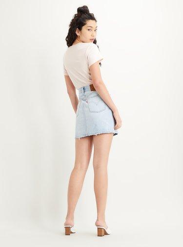 Svetlomodrá rifľová sukňa Levi's®