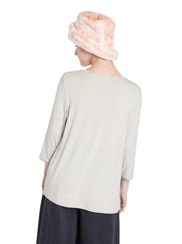 Desigual béžové tričko TS Brest