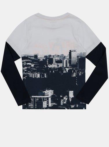 Čierno-šedé chlapčenské tričko name it Nader