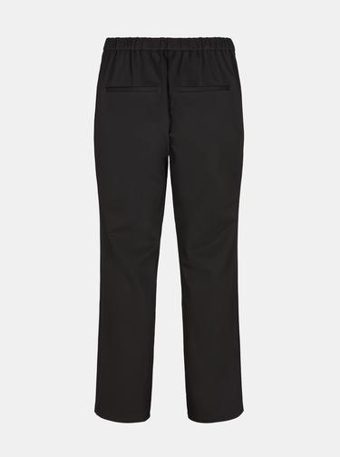 Černé zkrácené kalhoty Zizzi
