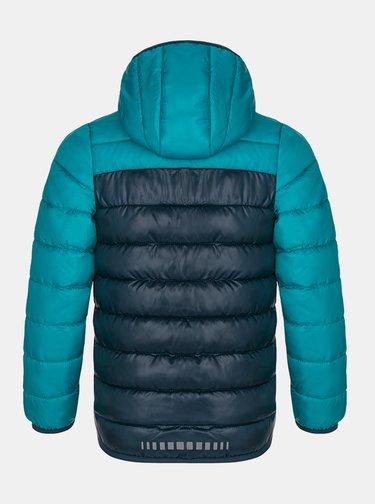 Modrá chlapčenská prešívaná zimná bunda LOAP