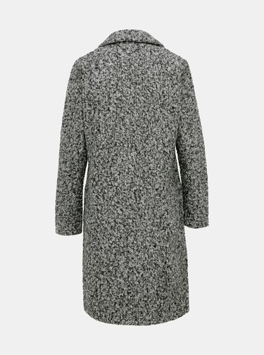 Šedý kabát Jacqueline de Yong Loopy