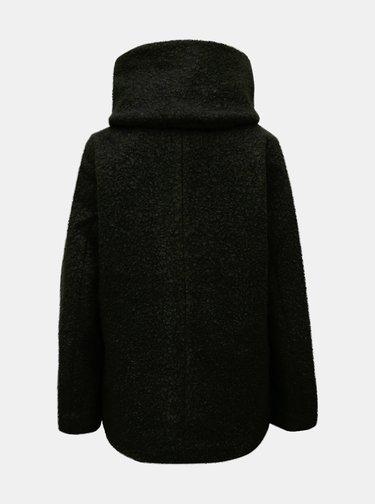 Čierny krátky kabát Jacqueline de Yong Sonya