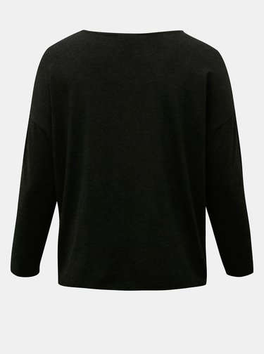 Čierne basic tričko ONLY CARMAKOMA Carma