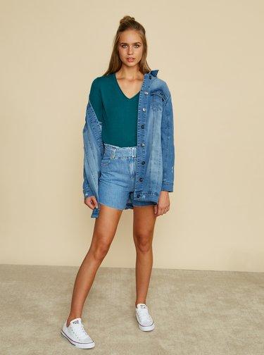 Modrý dámsky basic sveter ZOOT Baseline Irma