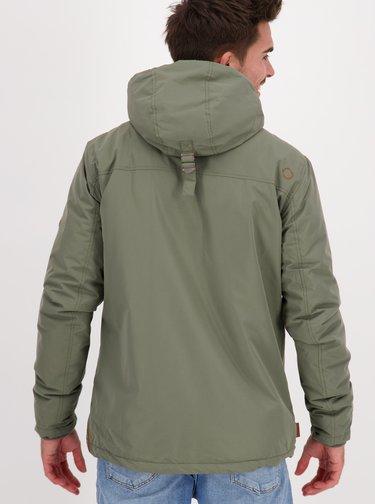 Khaki pánská zimní bunda Alife and Kickin