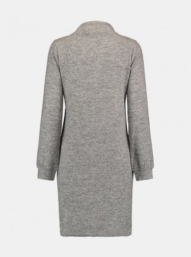 Šedé svetrové šaty Haily´s