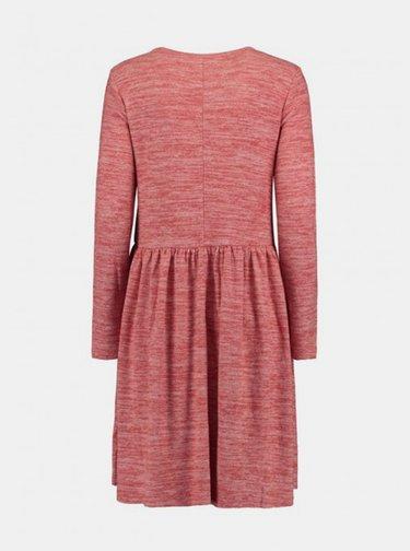 Červené žíhané šaty Haily´s