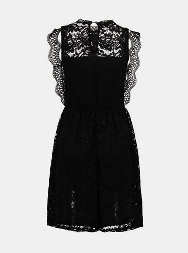 Čierne krajkované šaty Haily´s
