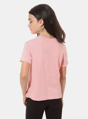 Ružové dievčenské tričko VANS