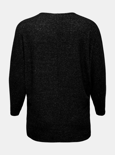 Tmavě šedý lehký svetr ONLY CARMAKOMA India