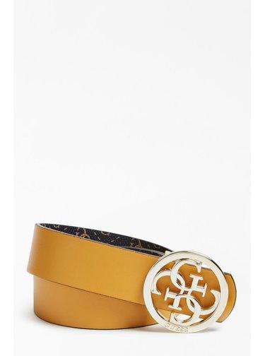 Guess oboustranný pásek Jensen 4G Logo Reversible Belt