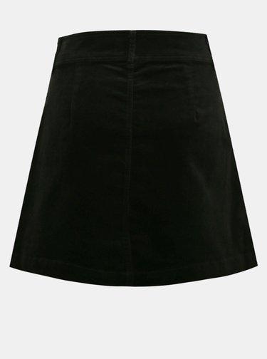 Černá manšestrová sukně Jacqueline de Yong Era