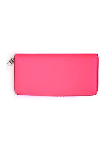 Calvin Klein neonově růžová peněženka Zip Around