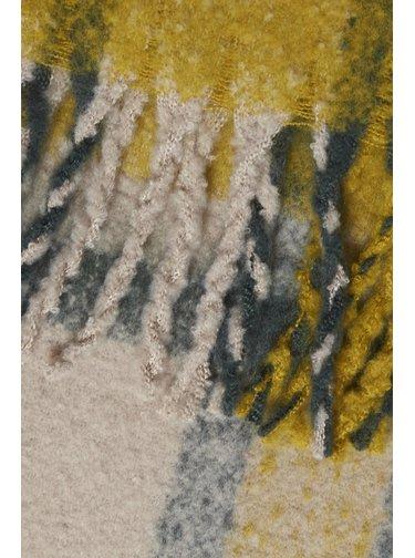 Ichi barevná šála Iabarina Golden Palm