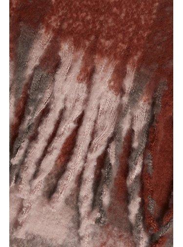 Ichi zimní šála Iabarina Burnt Henna