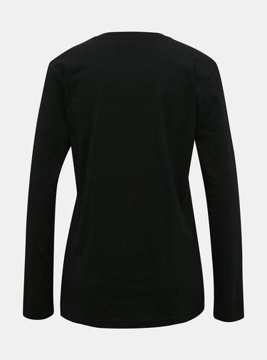 Černé dámské tričko Diesel
