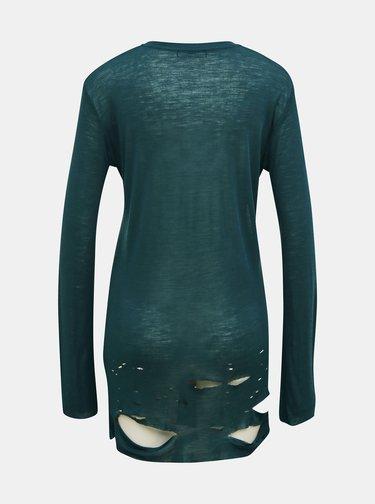 Zelené dámské vlněné tričko Diesel