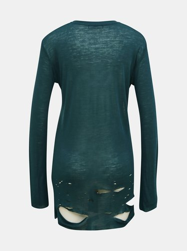 Zelené dámske vlnené tričko Diesel