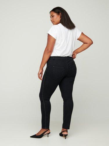 Černé skinny fit džíny Zizzi