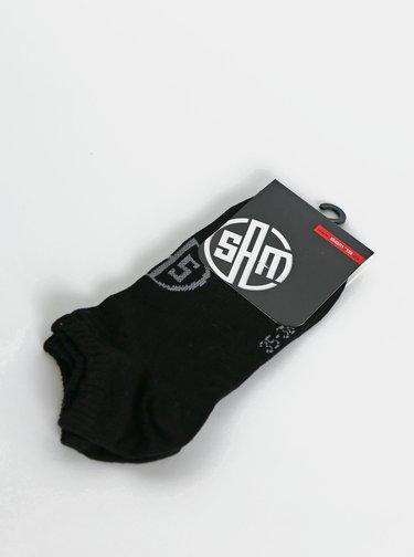Černé kotníkové ponožky SAM 73