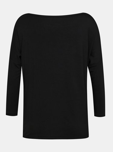 Čierne dámske voľné tričko ZOOT Baseline Leticia