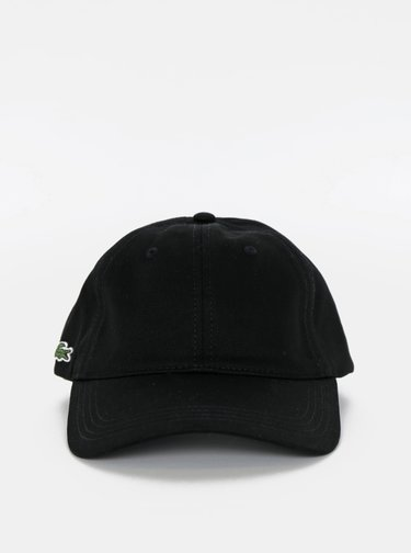 Černá pánská kšiltovka Lacoste