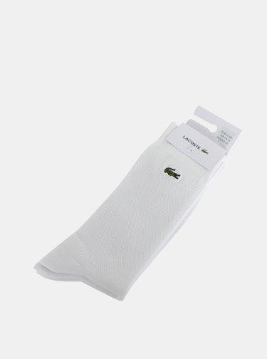 Bílé ponožky Lacoste